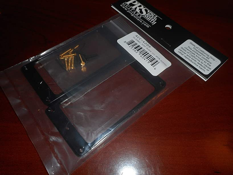 PRS Flat Pickup Rings For US Tremolos - BLACK PLASTIC