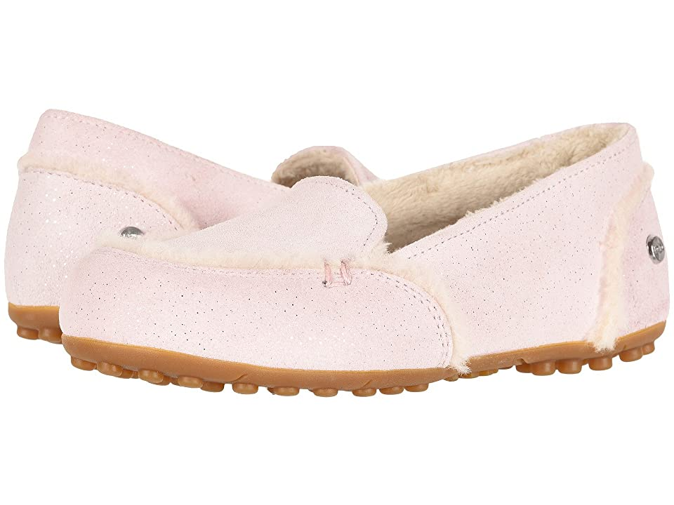 UGG Kids Hailey Sparkle (Little Kid/Big Kid) (Baby Pink) Girls Shoes