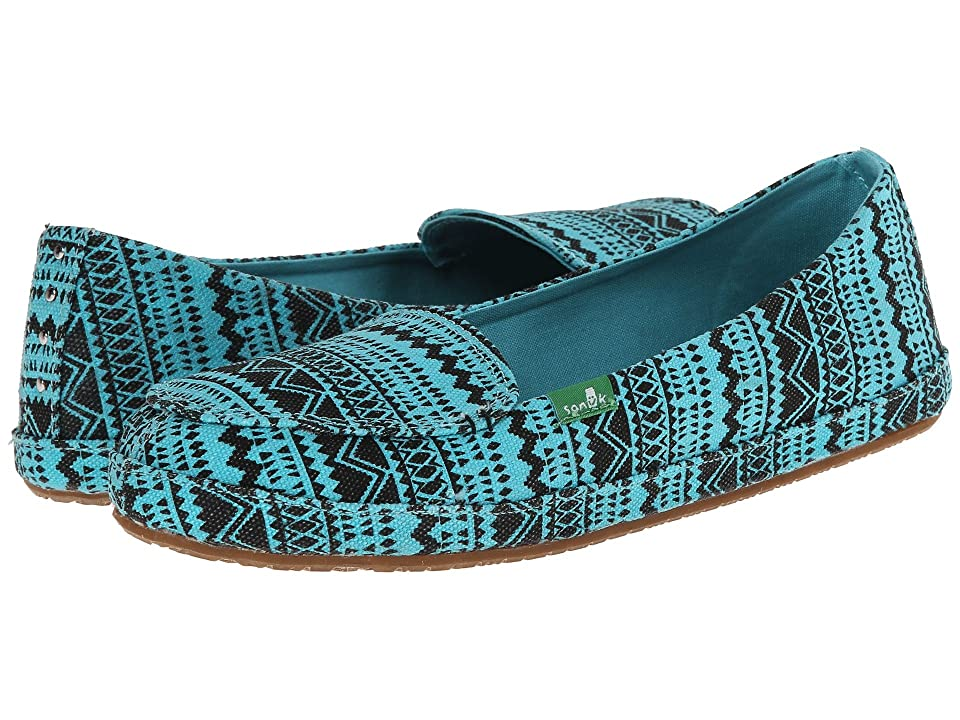 Sanuk Mirage (Aqua/Tribal) Women
