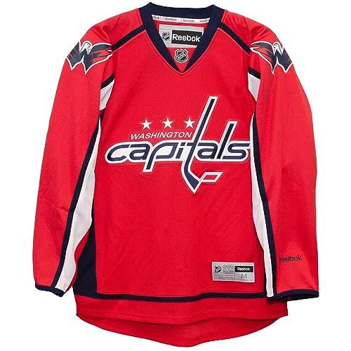 Reebok Washington Capitals Home Red Premier Men s Jersey ed689435d