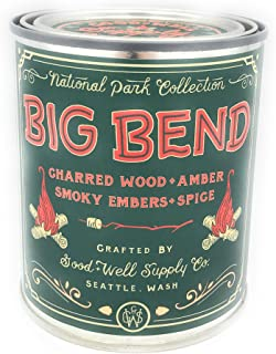 Good And Well Supply Co., Candle National Park Pint Big Bend, 14 Ounce