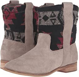 Desert Taupe Suede/Tribal Wool