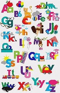 pepita Uppercase Lowercase Alphabet Needlepoint Kit