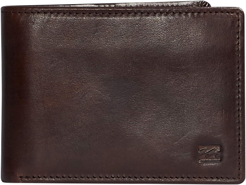 Billabong Men's Classic Travel Accessory-Tri-Fold Wallet