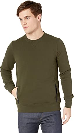 Club Nomade Classic Crew Neck Sweat with Pocket Construction
