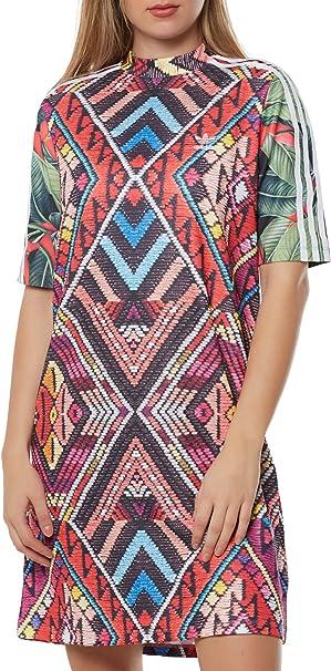 Adidas Damen Dress Cw1383 Kleid Amazon De Bekleidung
