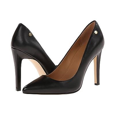 Calvin Klein Brady (Black Leather) High Heels