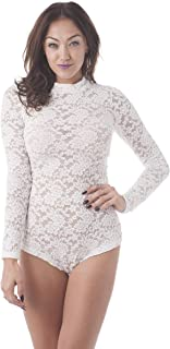 Best ivory lace bodysuits Reviews