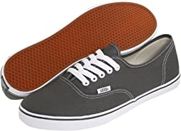 03cccbbfd64765 Pewter True White. 2371. Vans. Authentic™ Lo Pro