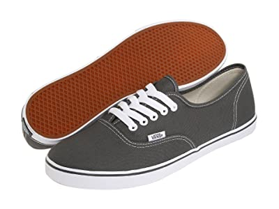 Vans Authentictm Lo Pro (Pewter/True White) Skate Shoes