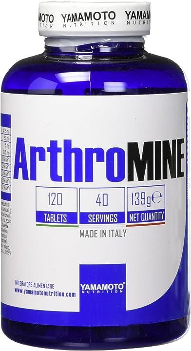 Integratore glucosamina - per le articolazioni che apporta glucosamina 120 compresse arthromine® 4926266000829