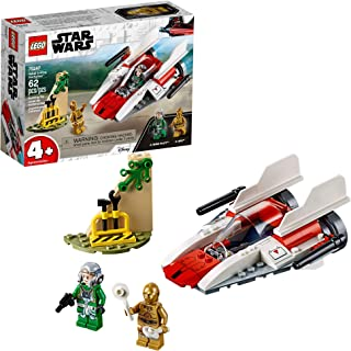 LEGO Star Wars Rebel A-Wing Starfighter 75247 4+ Building Kit , New 2019 (62 Pieces) (Renewed)