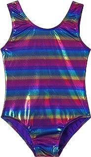 TUTU Girls Sparkle Rainbow Dancing Gymnastics Leotards