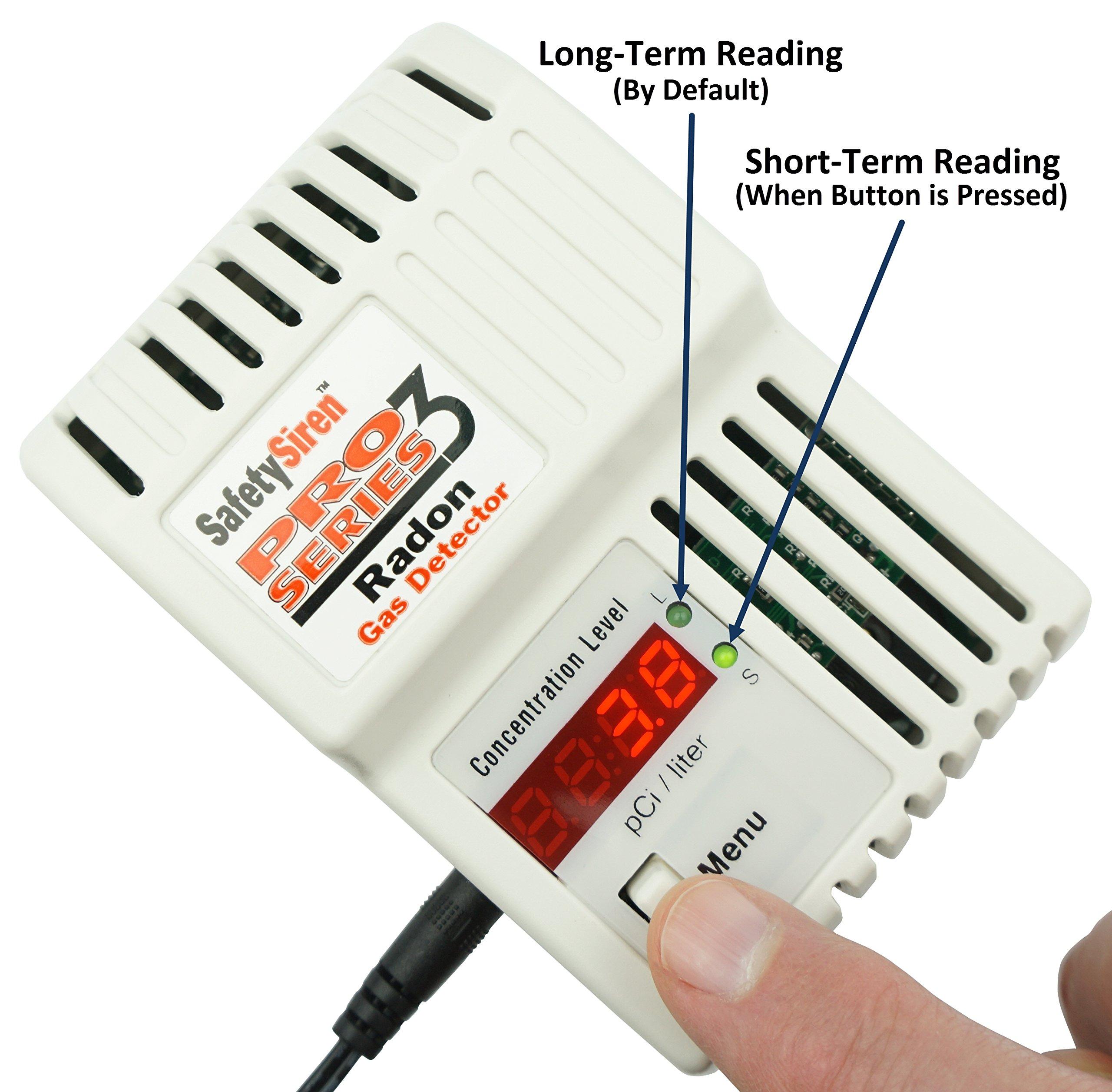 HS71512 Electronic Radon Gas Detector
