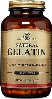 Solgar – Natural Gelatin, 250 Capsules