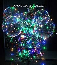 6pcs llevó las luces que destellan del globo de 18inch para la boda del cumpleaños La fiesta de Navidad proponen el partido decorativo
