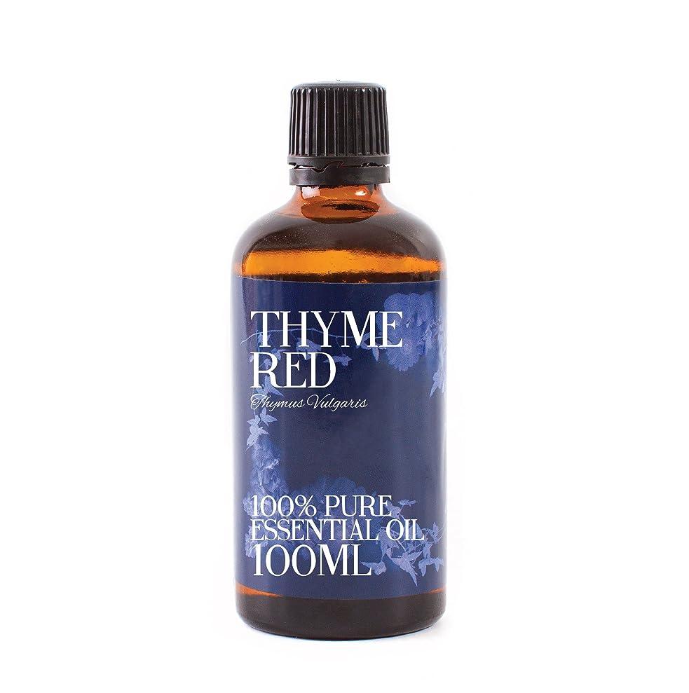 闘争運搬しなやかなMystic Moments | Thyme Red Essential Oil - 100ml - 100% Pure