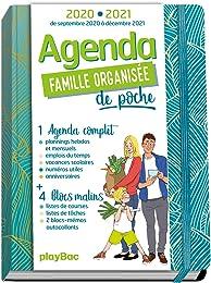 Agenda de poche de la famille organisée 2021 - Ble