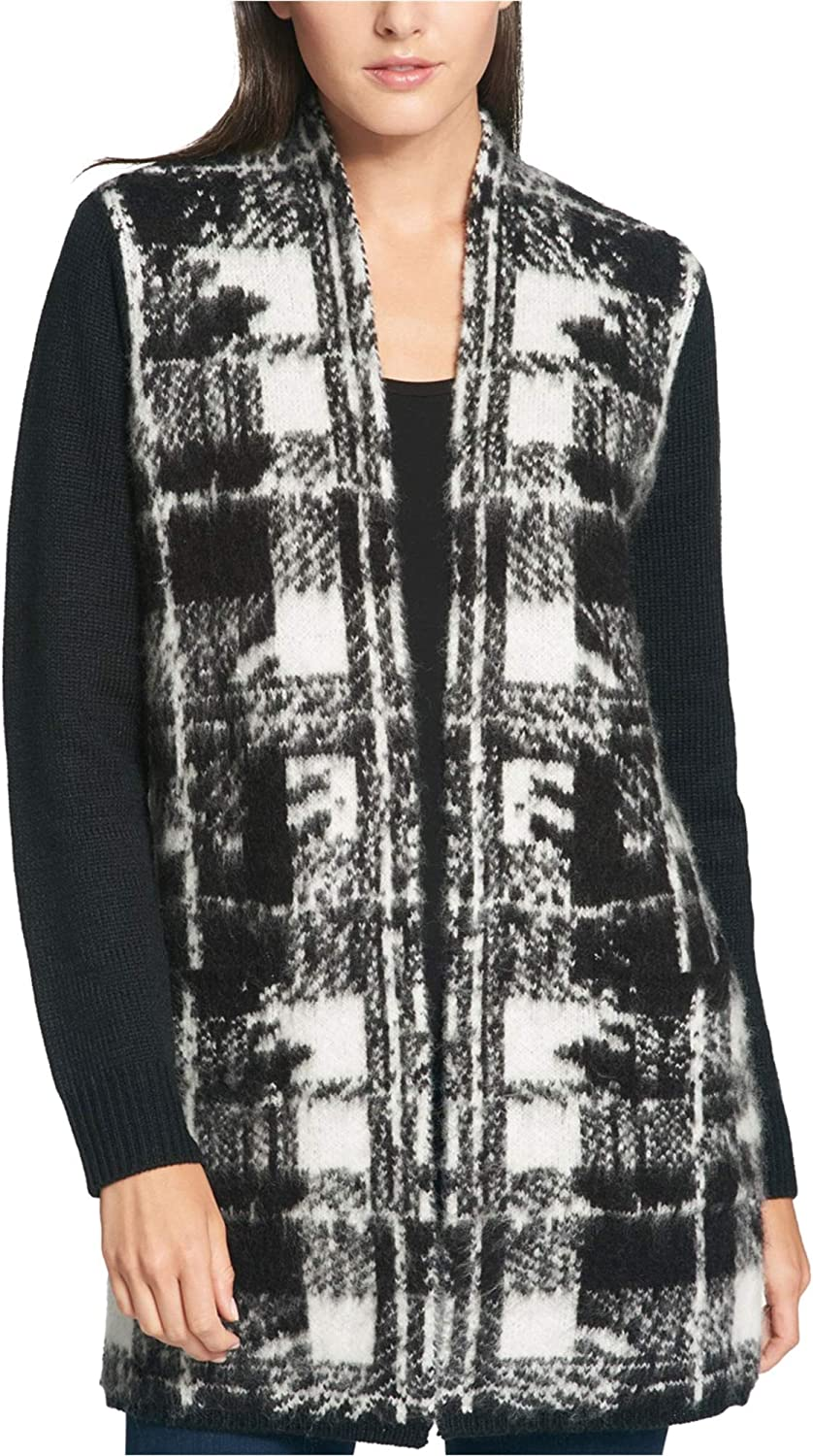 Tommy Hilfiger Womens Colorblocked Cardigan Sweater