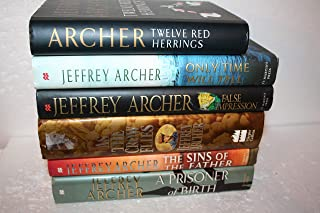 Jeffrey Archer 6-Title Collection: Twelve Red Herrings (1994) - A collection of stories The rest are novels: False Impressions; Only Time Will Tell; As The Crow Flies; The Sins of the Father; A Prison
