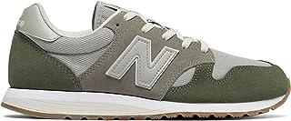 (ニューバランス) New Balance 靴?シューズ レディースライフスタイル 520 70s Running Military Foliage Green with Grey グリーン グレー US 8.5 (25.5cm)
