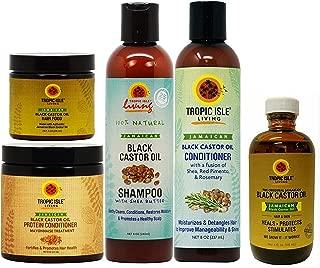 Tropic Isle Living Tropic isle living jamaican black castor oil hair care system for natural hair