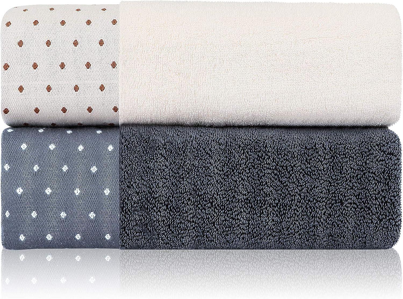 Premium Large special price Cotton Bath Towels Set of depot 100% Spun 27