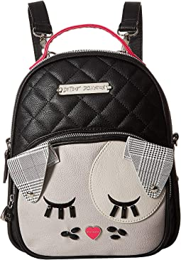 Diamond Quilt Kitch Backpack