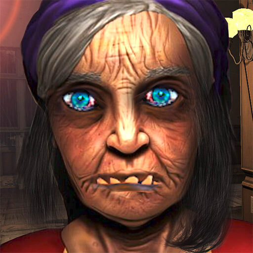 Scary Granny Neighbor 3D - Horror Games Free S