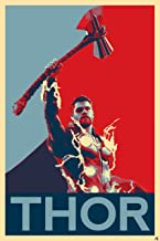 NLopezArt Thor Political Poster #2 -Ragnarok and Avengers Infinity War Illustration Marvel Avengers Superhero Pop Art Post...