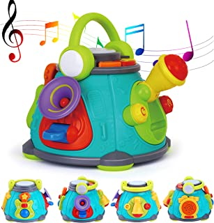 Toy Chef Musical Activity Cube Play Center Educational Kids Toddler Baby, Fun Interactive Educational Learning Development