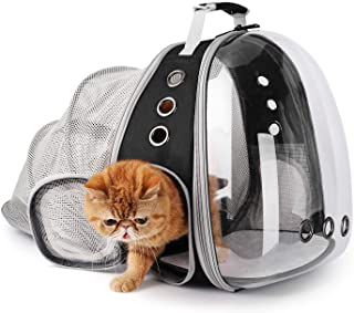 Lollimeow Pet Carrier Backpack, Bubble Backpack Carrier, Cats and Puppies,Airline-Approved, Designed for Travel, Hiking, W...