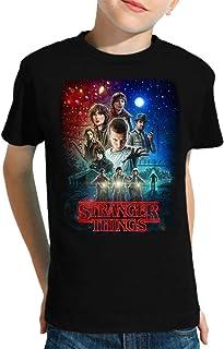 Camiseta de NIÑOS Stranger Things Once Series Retro 80 Eleven Will 001