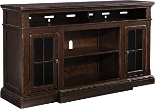 Ashley Furniture Signature Design - Roddinton TV Stand - 74 in - Rectangular - Dark Brown
