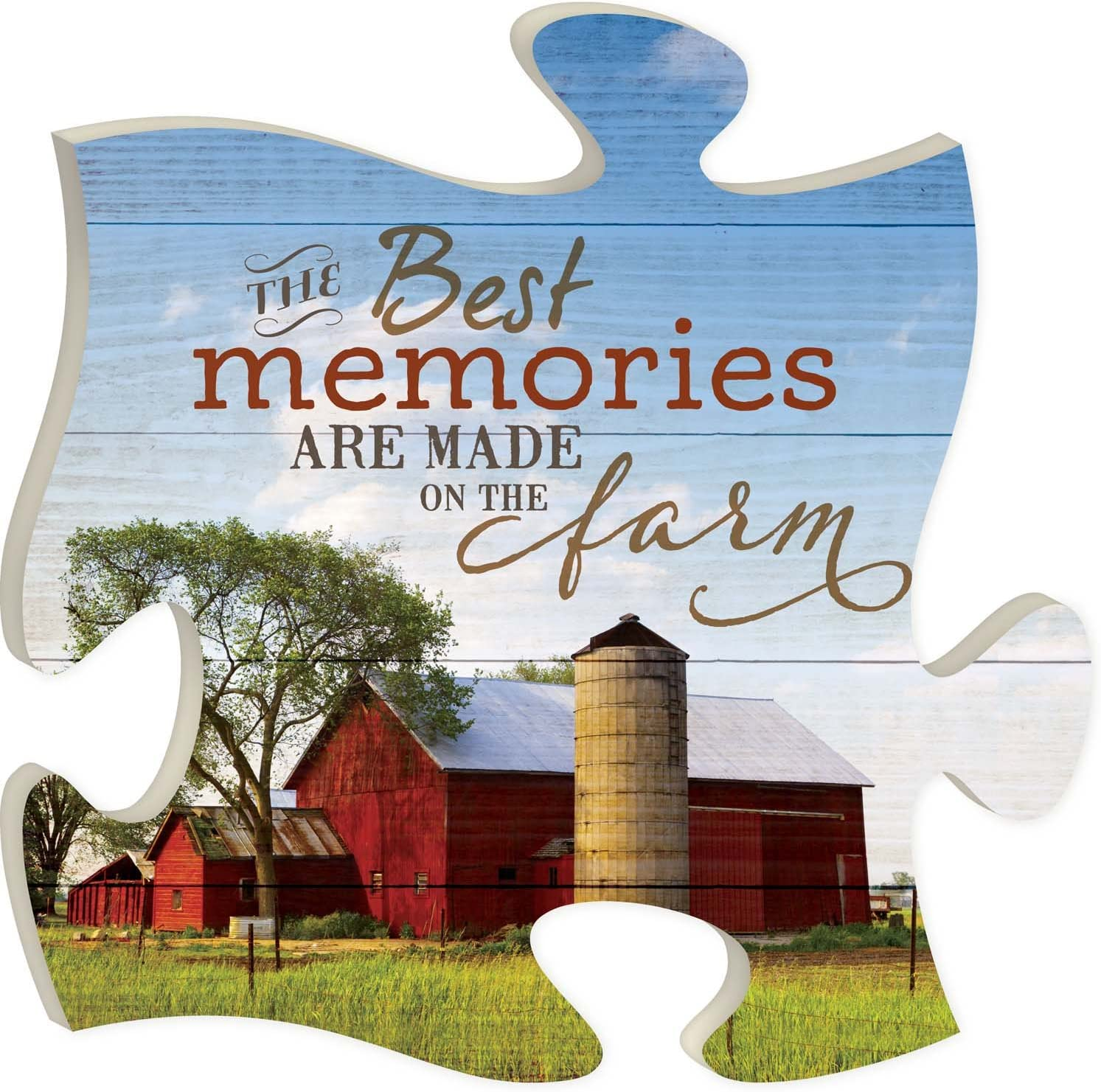 P. Graham Dunn Best Memories Made on Barn Red 12 The x W Farm Large special unisex price