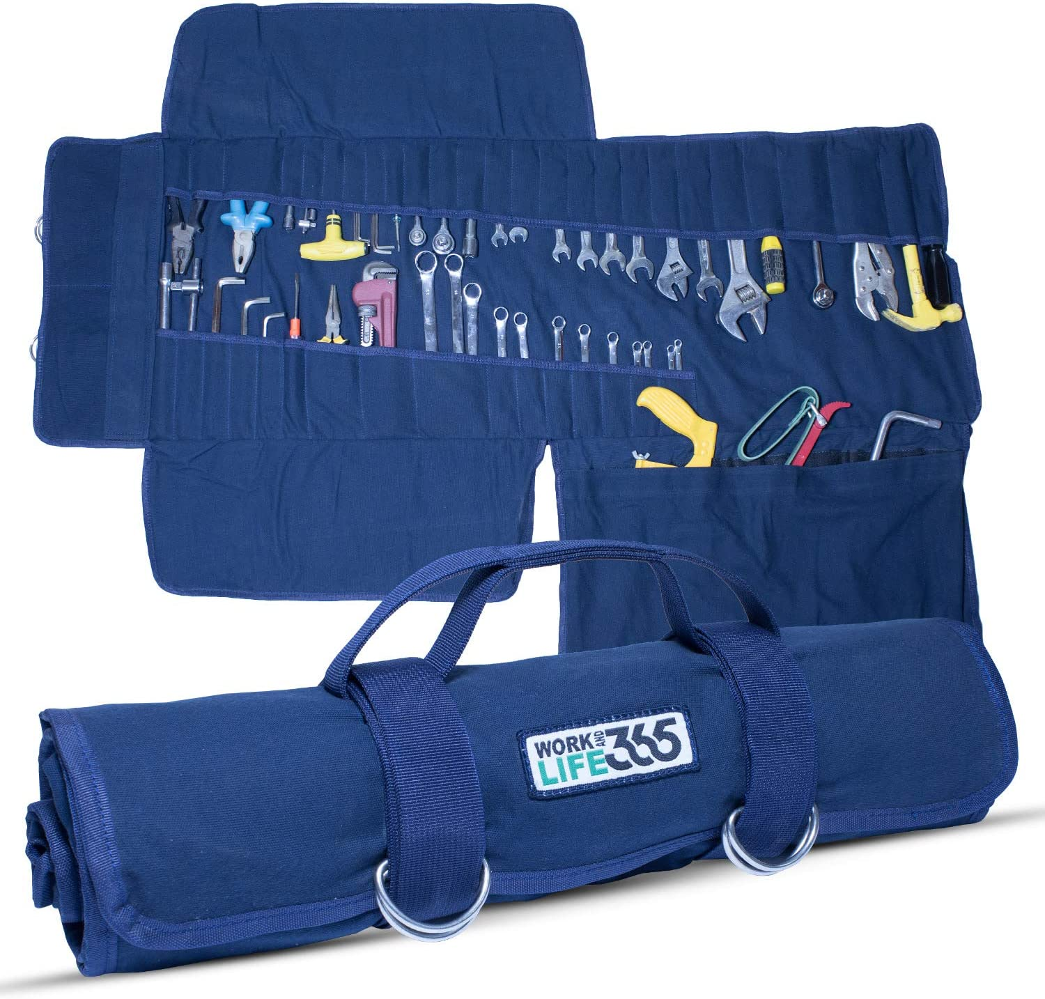 WorkandLife365 Tool Year-end annual account Roll Organizer Cheap mail order specialty store Jumbo-sized - Water Resistant