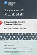 MyLab Math -- 24 Month Standalone Access Card -- for Intermediate Algebra (13th Edition)