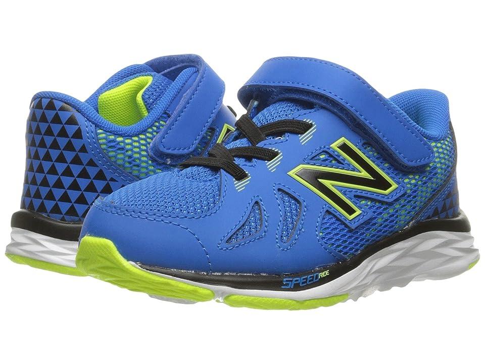 New Balance Kids KV790v6 (Infant/Toddler) (Blue/Green) Boys Shoes