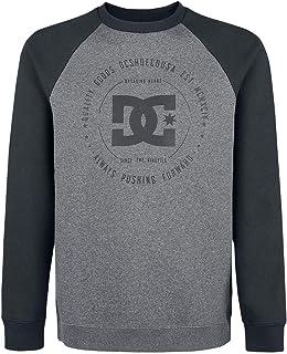DC Men's Rebuilt 2 Crew Raglan Sweatshirt