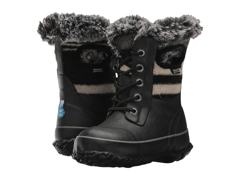 Bogs Kids Arcata Wool Stripe (Toddler/Little Kid/Big Kid) (Dark Blue Multi) Girls Shoes