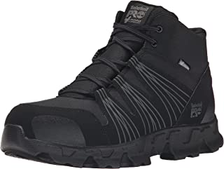 Timberland PRO Men's Powertrain Mid Alloy-Toe ESD Industrial Work Boot