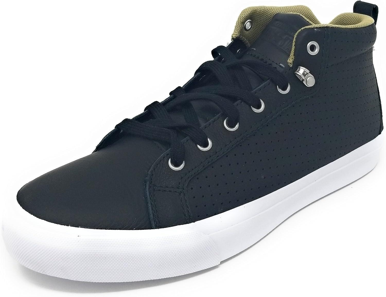 Converse AS All Star Fulton Mens Mid Sneaker, Black Sandy White, Size 13 M