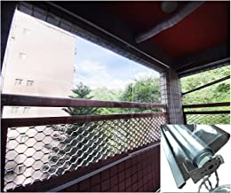LiangGJUN gordijnen van pvc, transparant, 0,5 mm, waterdicht, stofdicht, voor buiten, thuis, kantoor, keuken (kleur: lich...