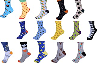 15 Pairs Sock Standard 3 PK Unisex Stance Funky Novelty Gift Party Casual Formal Workwear …