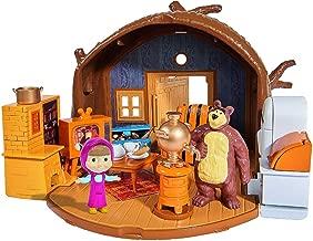 SIMBA 109301632 Masha Bear's House Playset, Multicolor