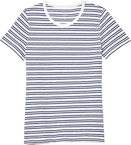 White Ocean Saybrook Stripe