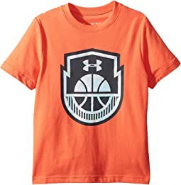 Basketball Icon Short Sleeve Tee (Big Kids)