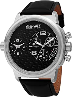 August Steiner Dress Watch Analog Display Quartz for Men AS8151SSB