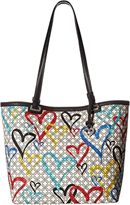 Brighton Initially Yours Heartburst Tote