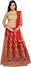 Indian Clothing Store Clickedia Women & Girls Heavy Semi-Stitched Bhagalpuri Silk Lehenga Choli Blouse pc